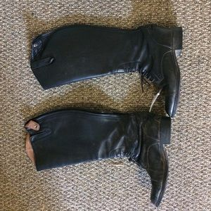 Damaged ariat riding boots
